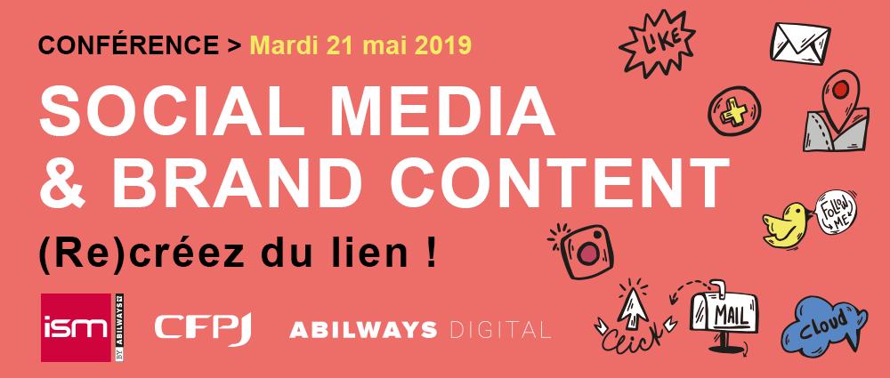 social media brand content